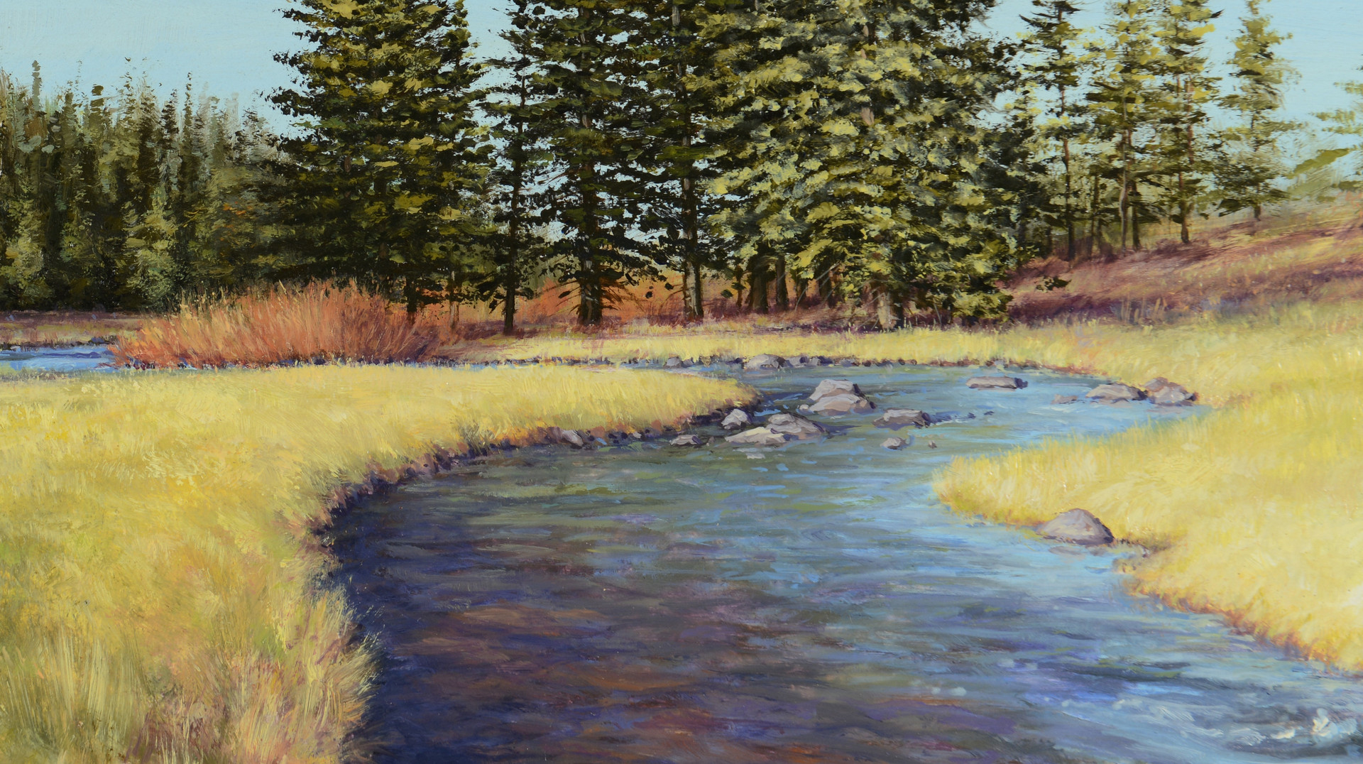 Lot 437: Travis Humphreys Landscape