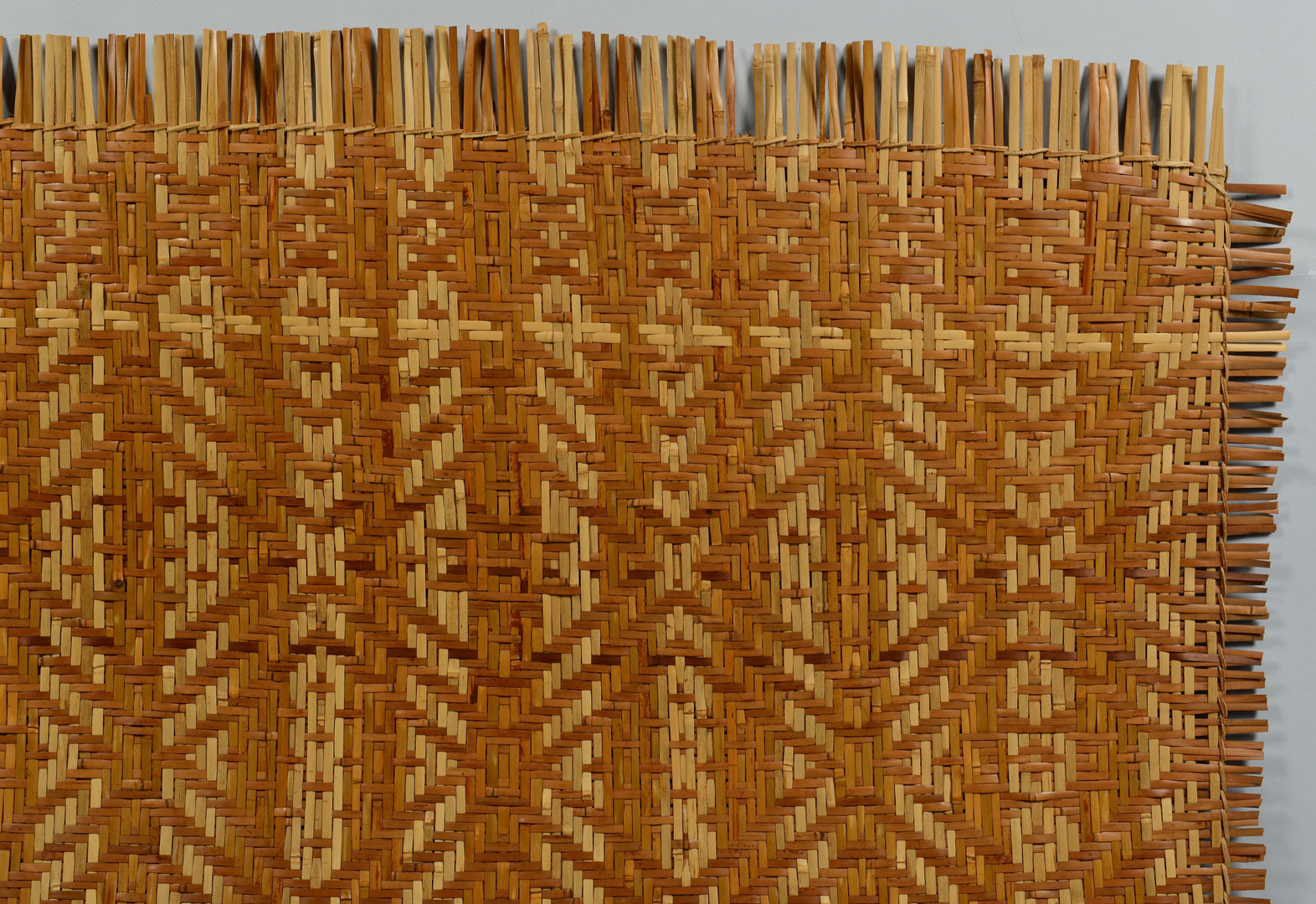 Lot 441: Cherokee Wall Basket & Mat