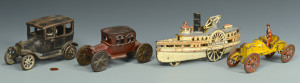 Lot 456: Vintage Cast Iron Toys