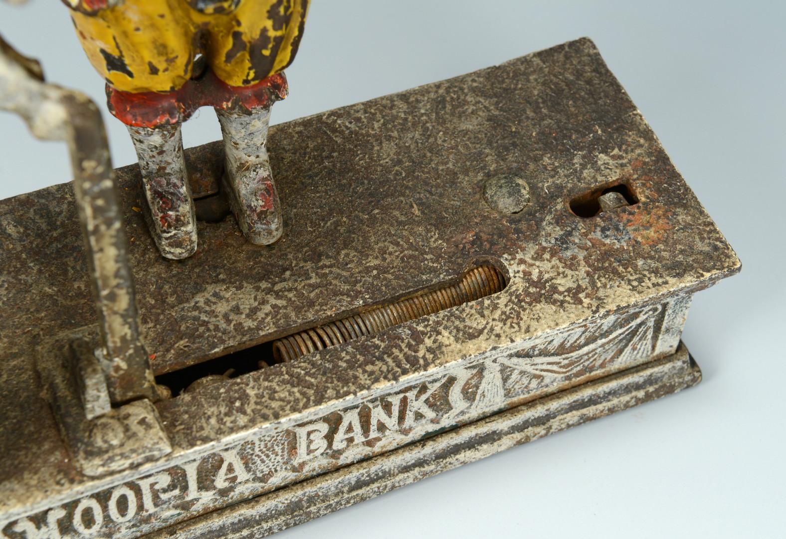 Lot 458: 2 English Mechanical Banks