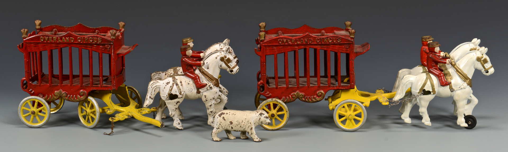 Lot 460: 3 Kenton Overland Wagon, Circus & Band