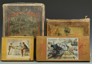 Lot 462: Boxed Train sets incl. Lionel 352E, American Flyer