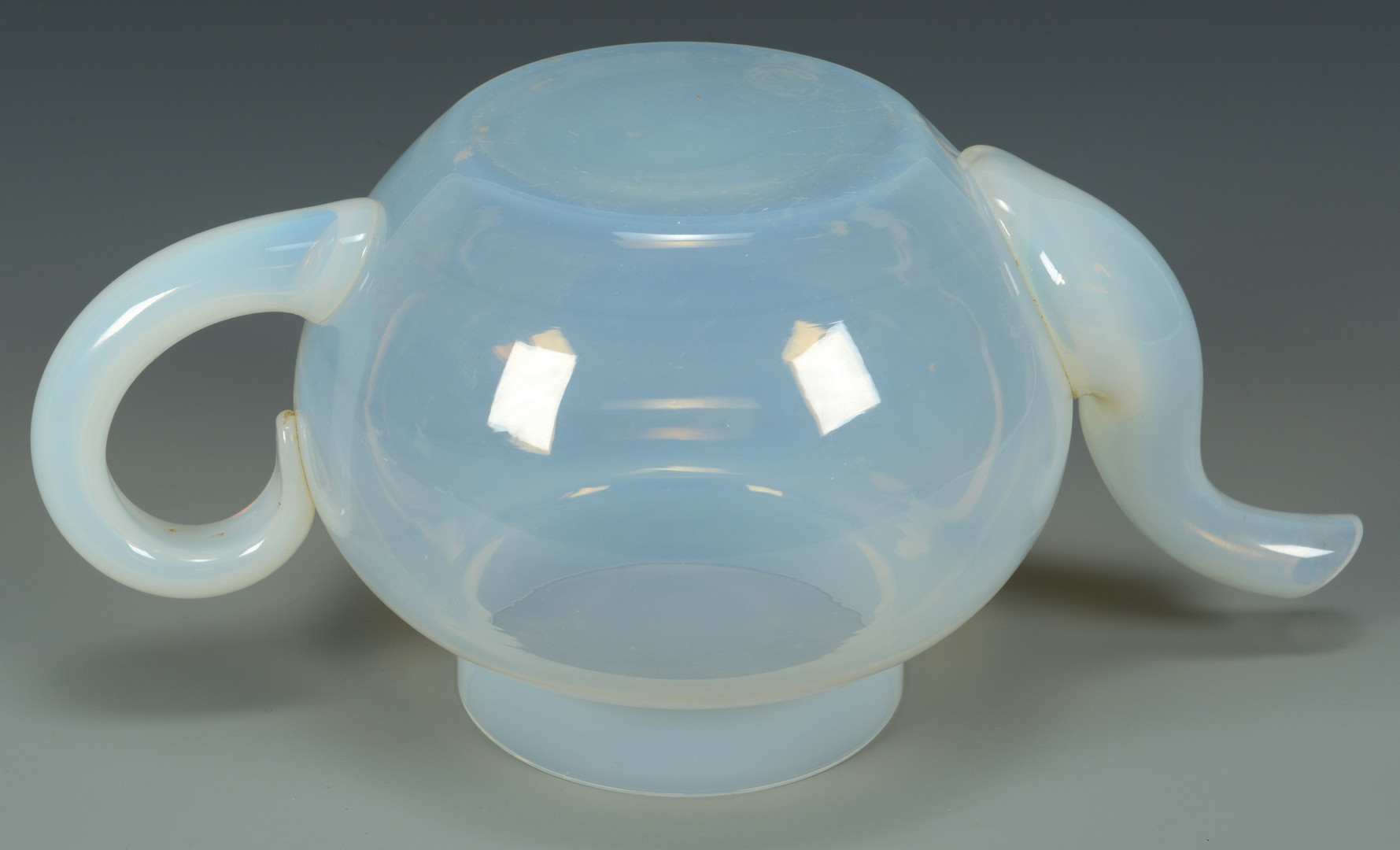 Lot 479: Fry Foval Opaline Glass Tea Set