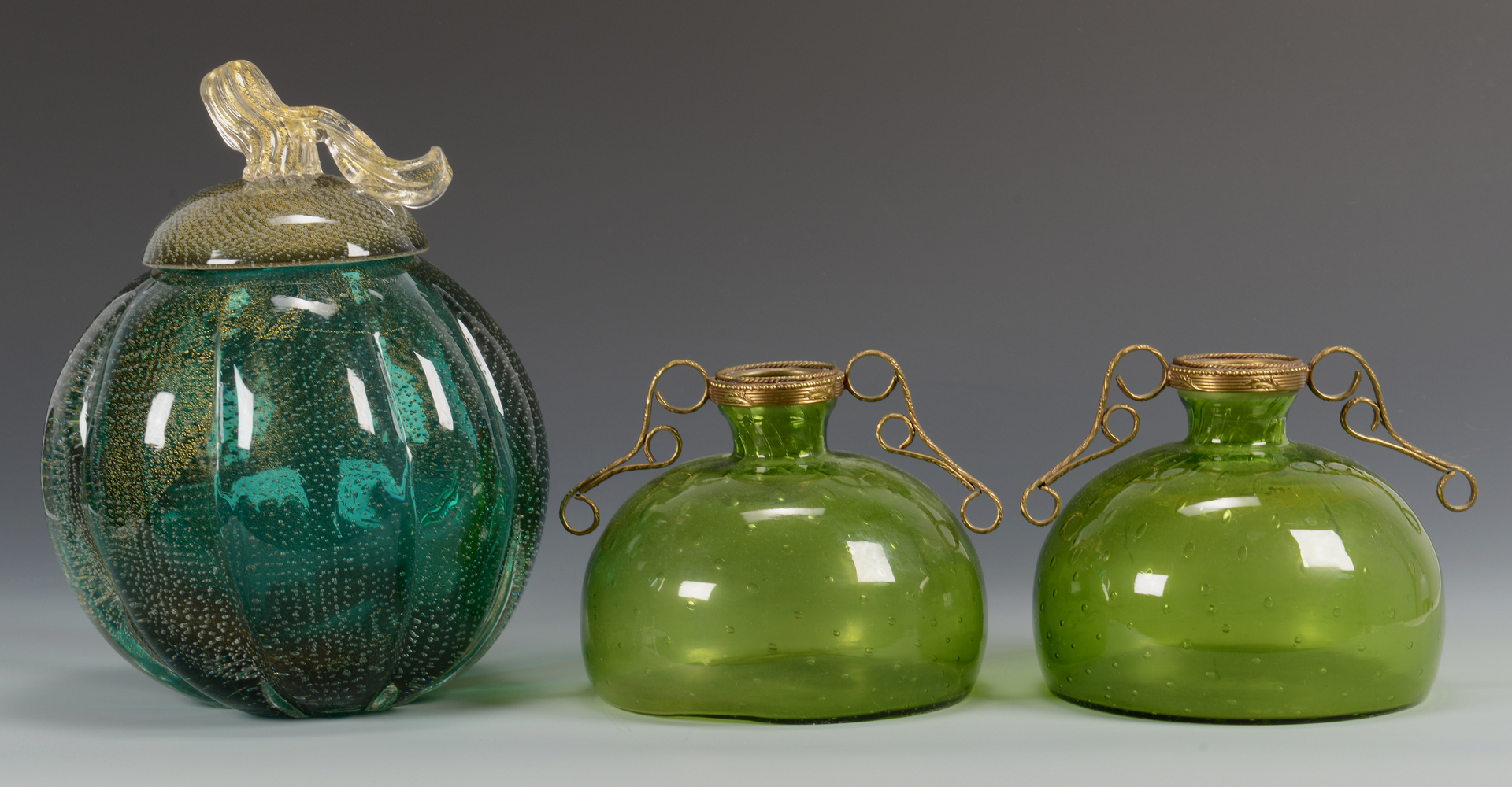 Lot 486: Group of 5 Murano Glass objects