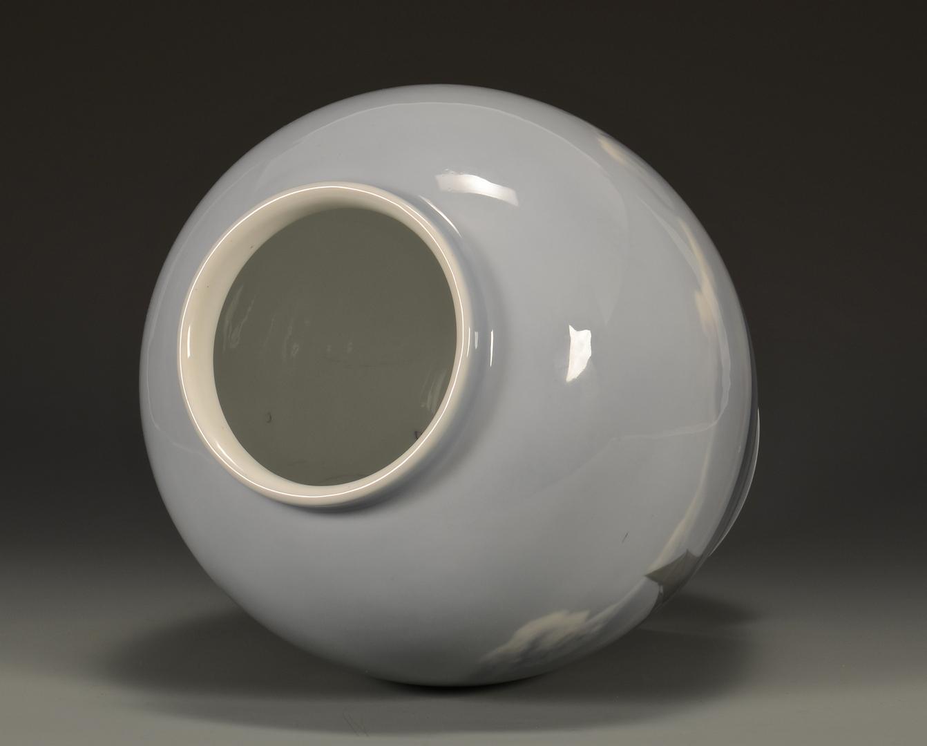 Lot 489: Royal Copenhagen Porcelain Vase