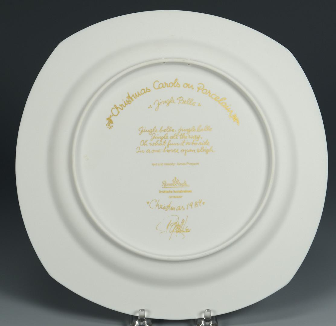 Lot 493: 9 Bjorn Wiinblad Christmas Plates