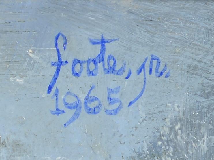 Lot 499: John Foote painting, 3 figures