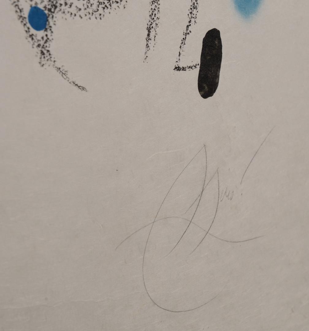 Lot 504: Joan Miro lithograph, Maravillas con Variaciones