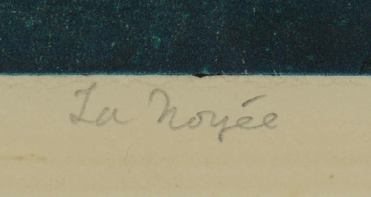 "Lot 510: S.W. Hayter Engraving ""La Noyee"""