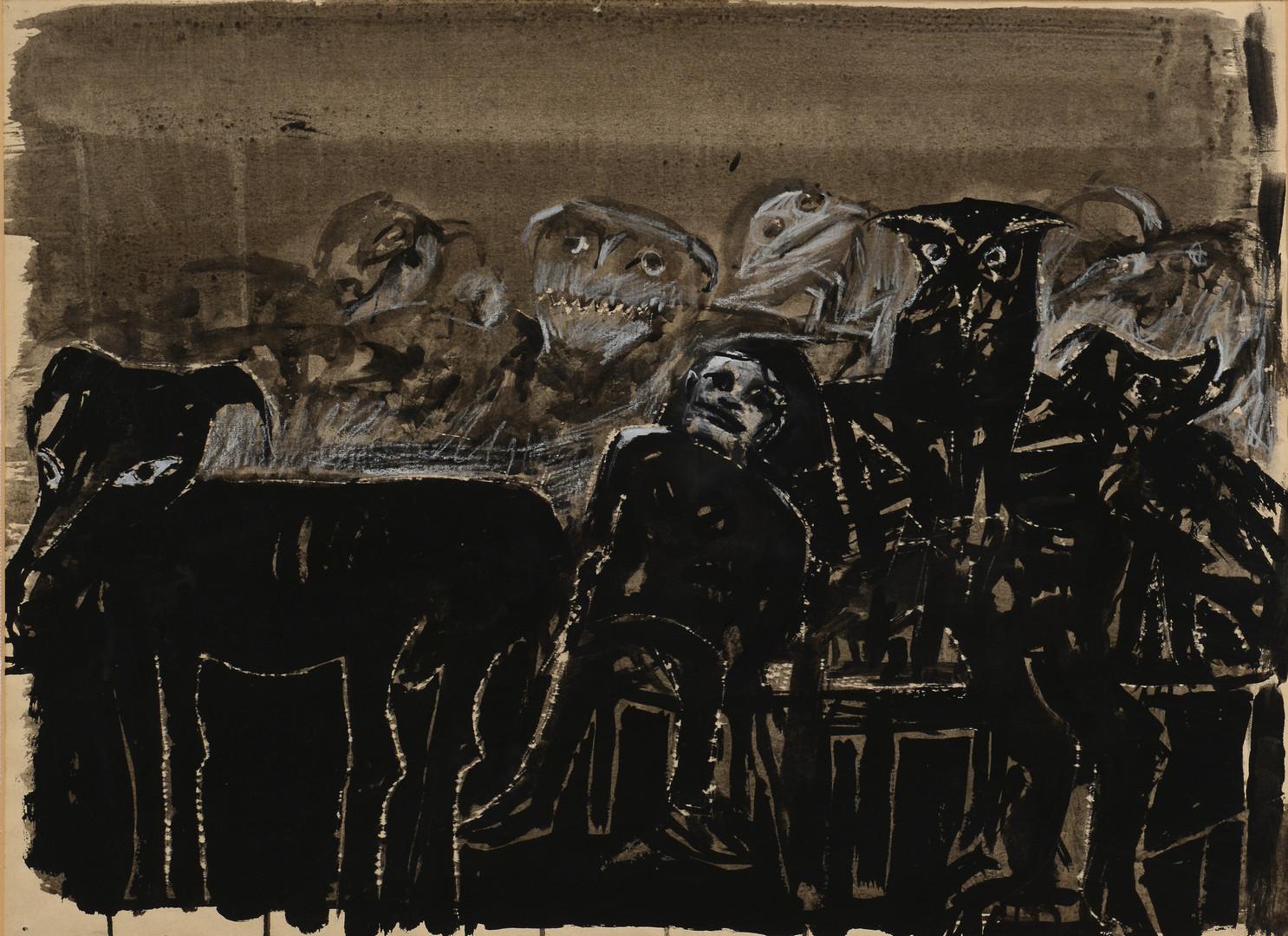 Lot 514: 4 Robert Broderson NC Paintings