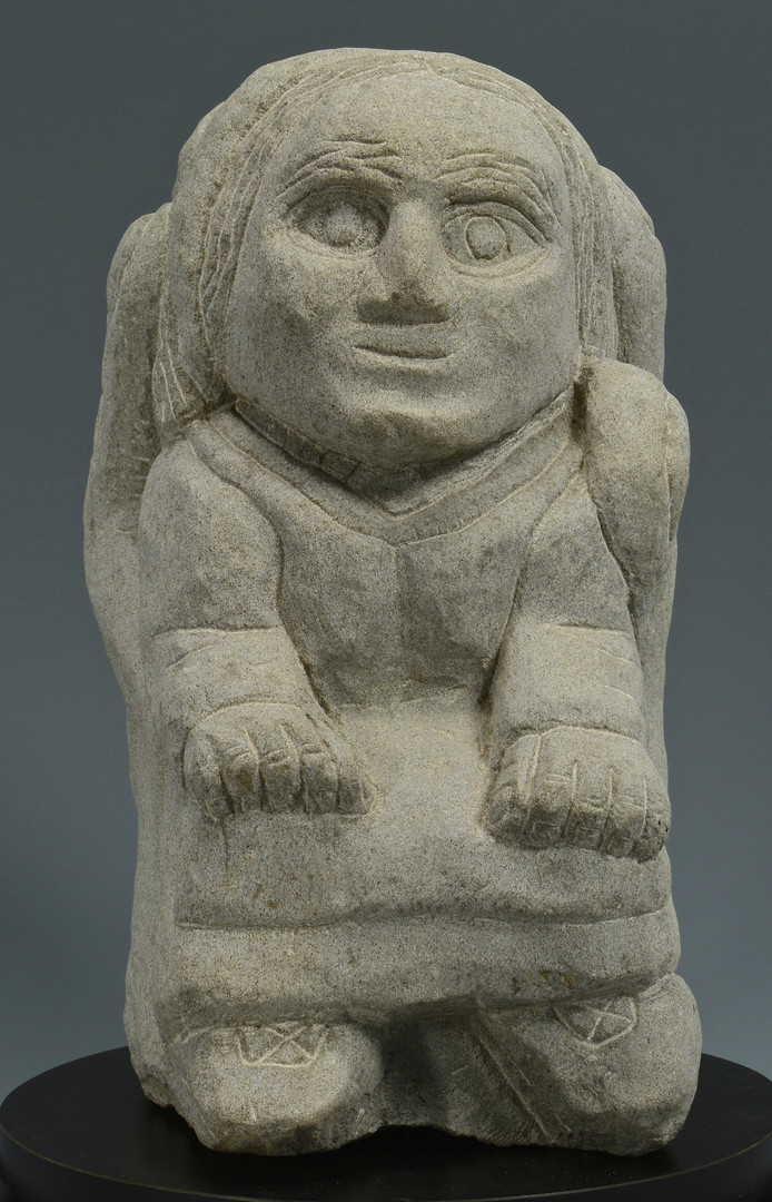 Lot 518: Tim Lewis Limestone sculpture