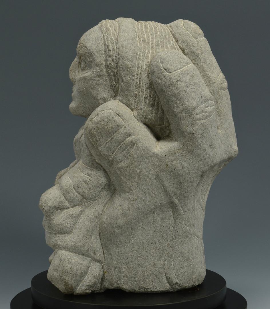 Lot 518: Tim Lewis Limestone sculpture