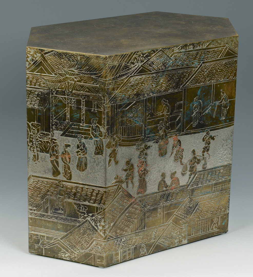 Lot 519: LaVerne Lo-Ta Cube Table
