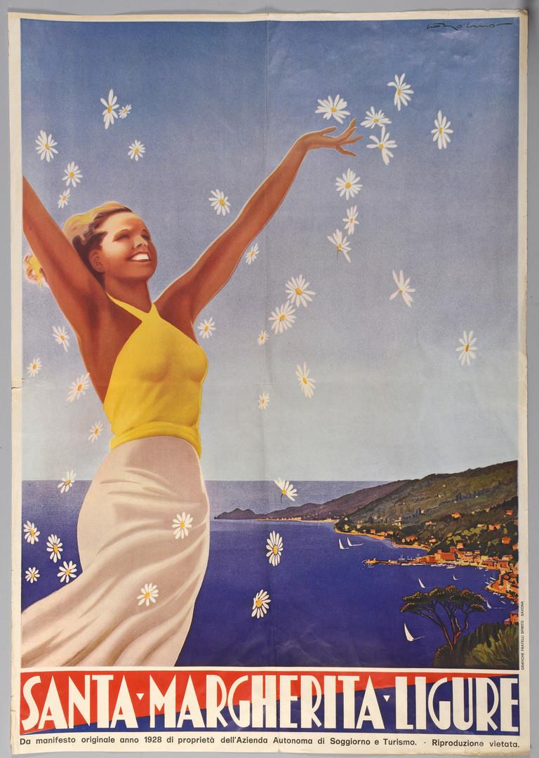 Lot 528: Travel Poster: Santa Margherita Ligure Italy