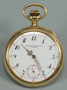 Lot 52: Patek Philippe 14k Pocketwatch