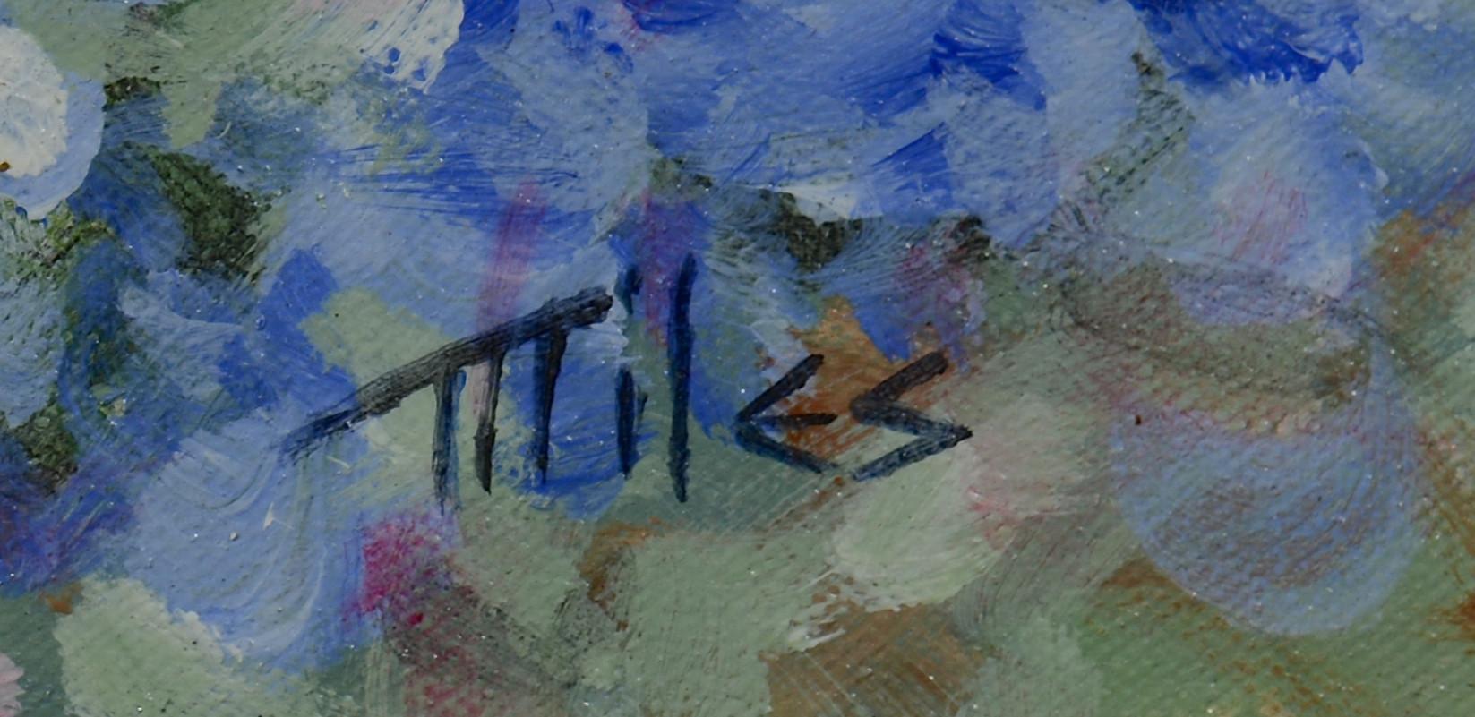Lot 535: Matthew Miles o/c, Bluebonnets