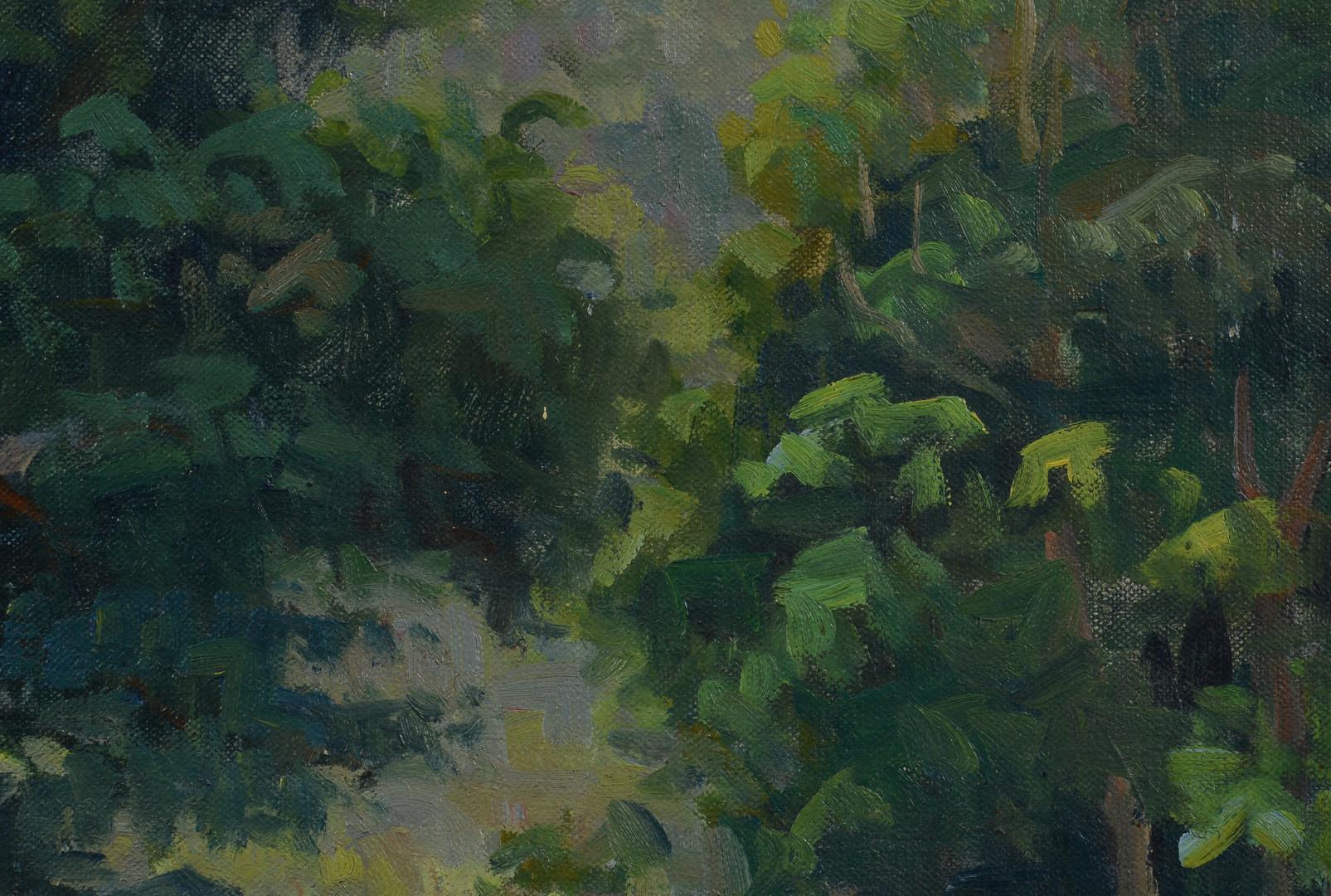 Lot 536: E. H. Budell o/c Landscape