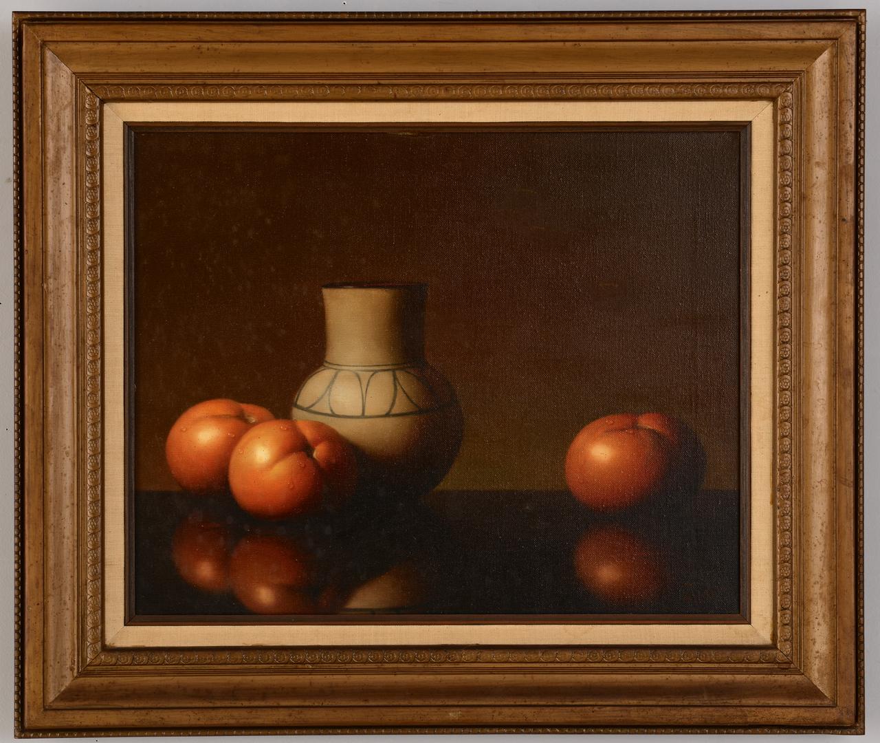 Lot 543: Al Jackson, Still Life with Tomatoes