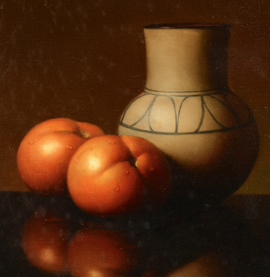 Lot 543: Al Jackson, Still Life with Tomatoes