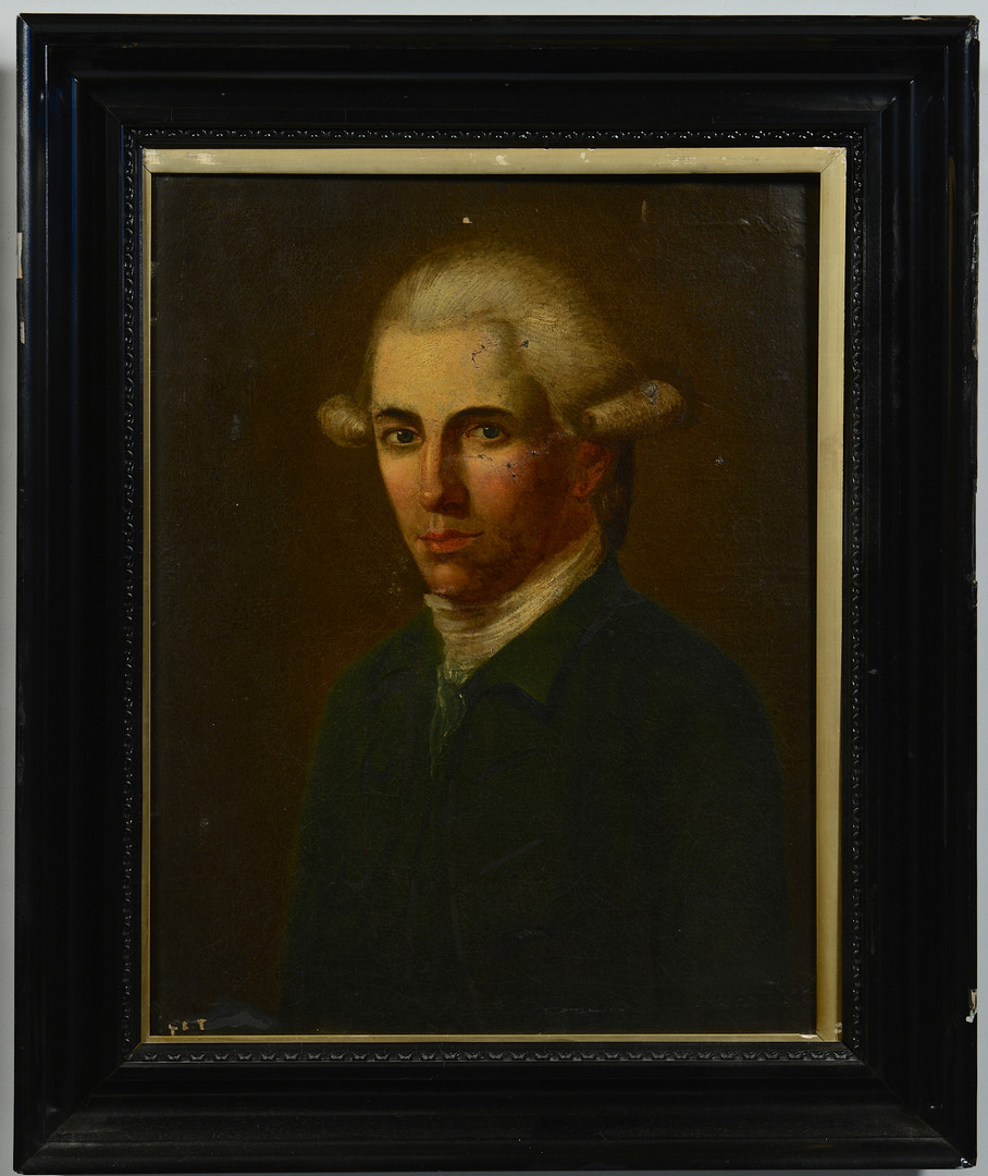 Lot 545: Portraits of a Lady and a Gentleman, 18th and 19th