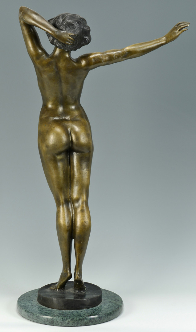 Lot 550: Nude Bronze, after Paul Philippe