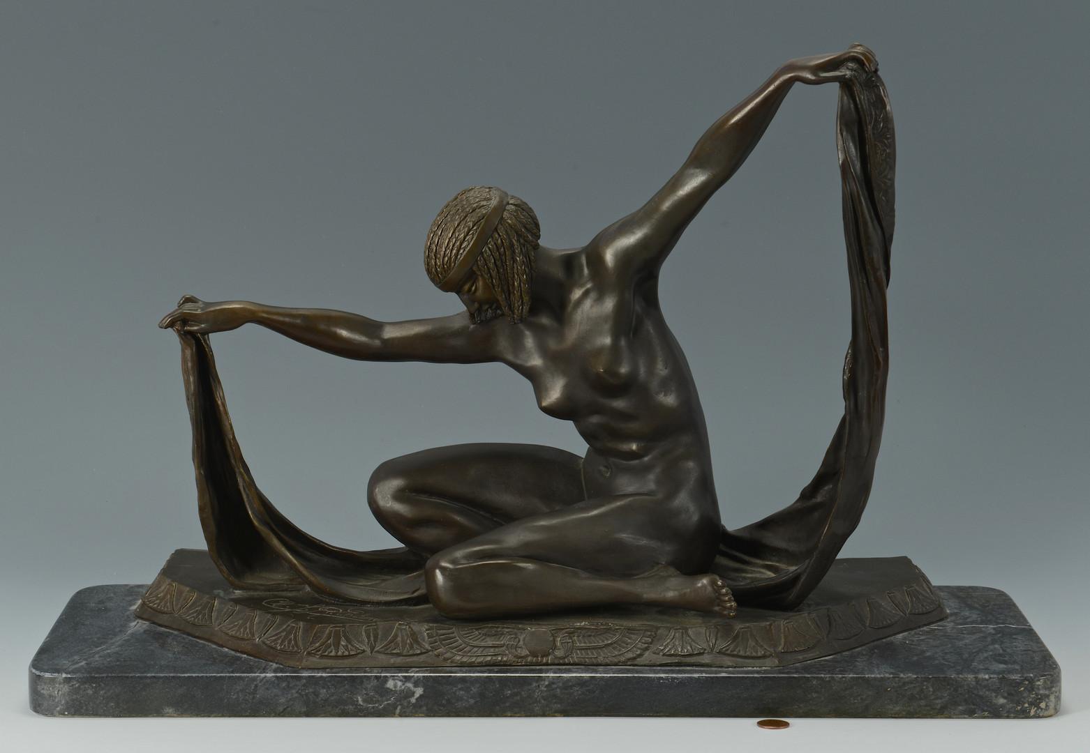 Lot 552: Bronze, after Claire Jeanne Roberte Colinet