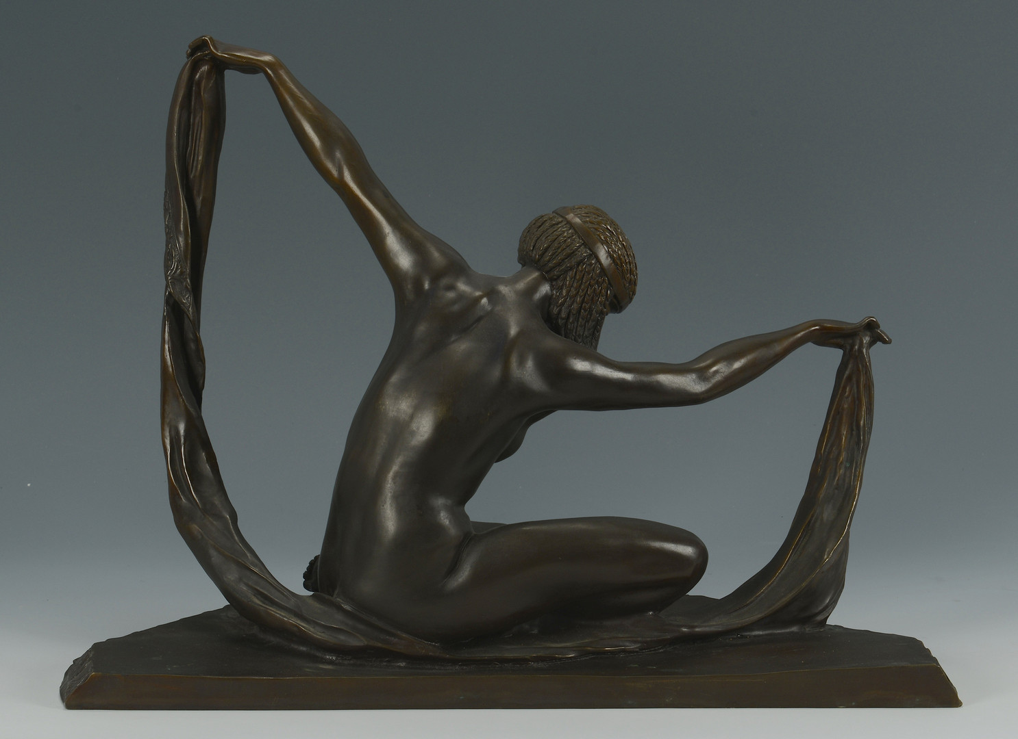 Lot 552: Bronze, after Claire Jeanne Roberte Colinet