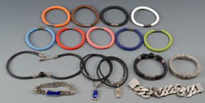 Lot 580: Group of John Hardy Men's Jewelry