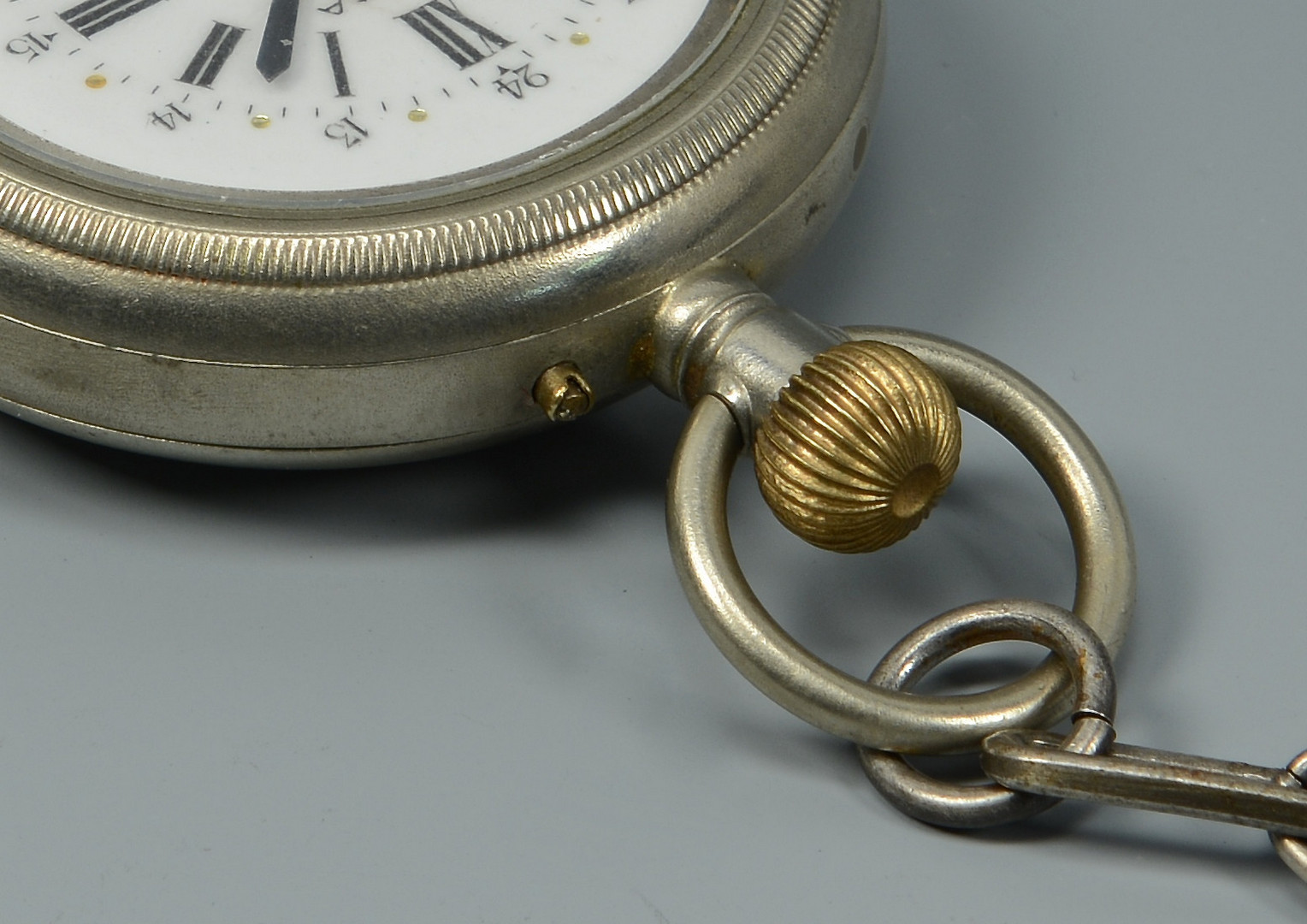 Lot 589: Men's Omega Qtr. Hour Repeating Pocket Watch