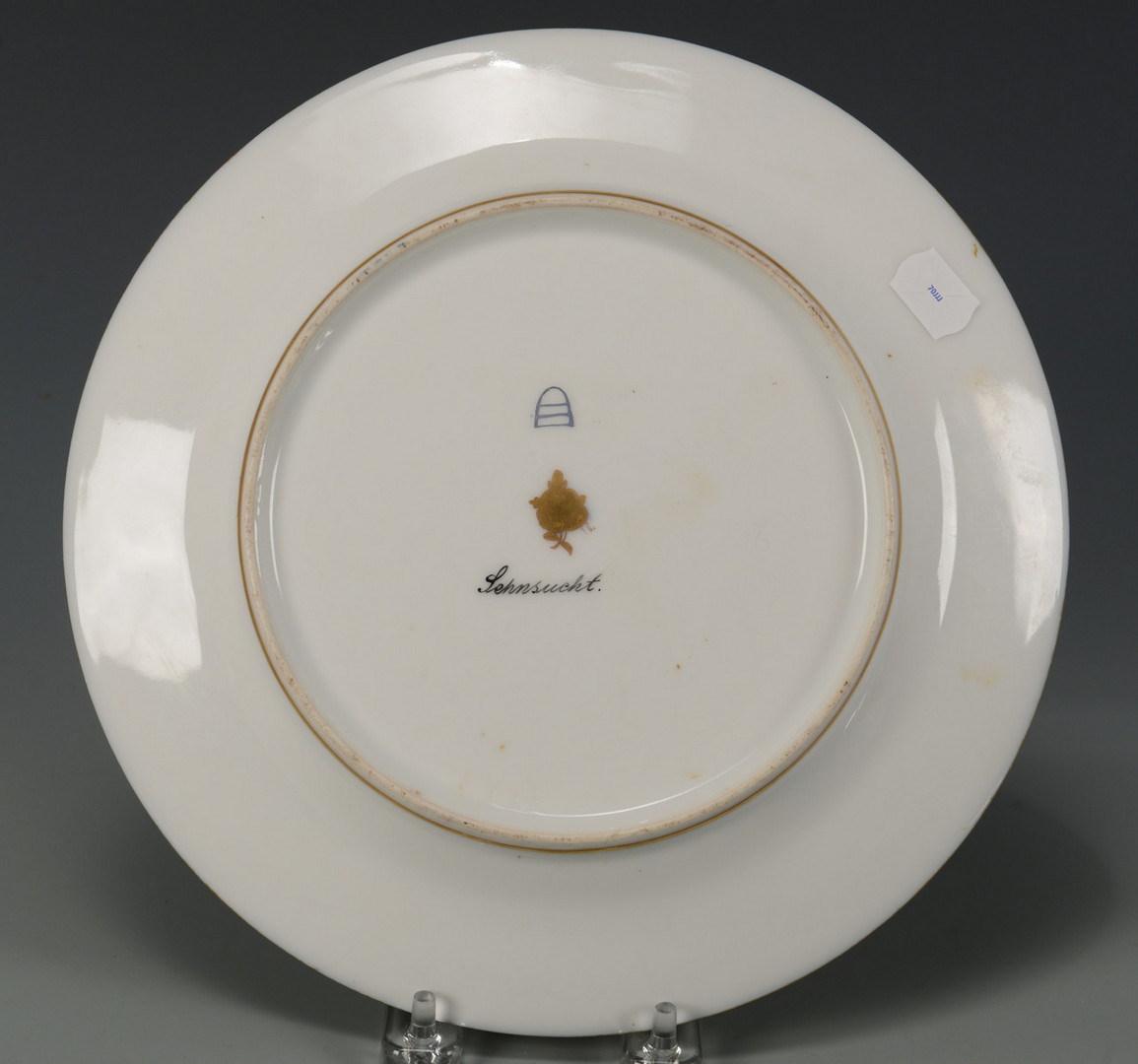 Lot 58: 2 Female Portrait Plates