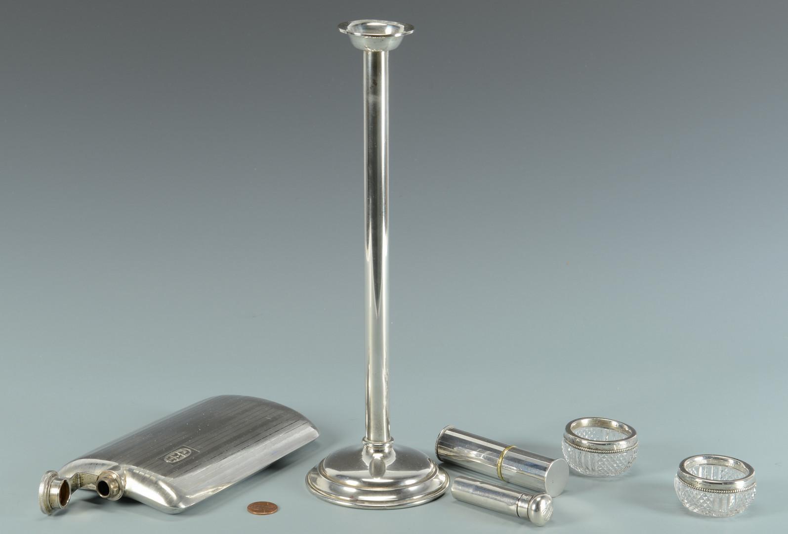 Lot 612: 6 pcs Sterling Hollowware