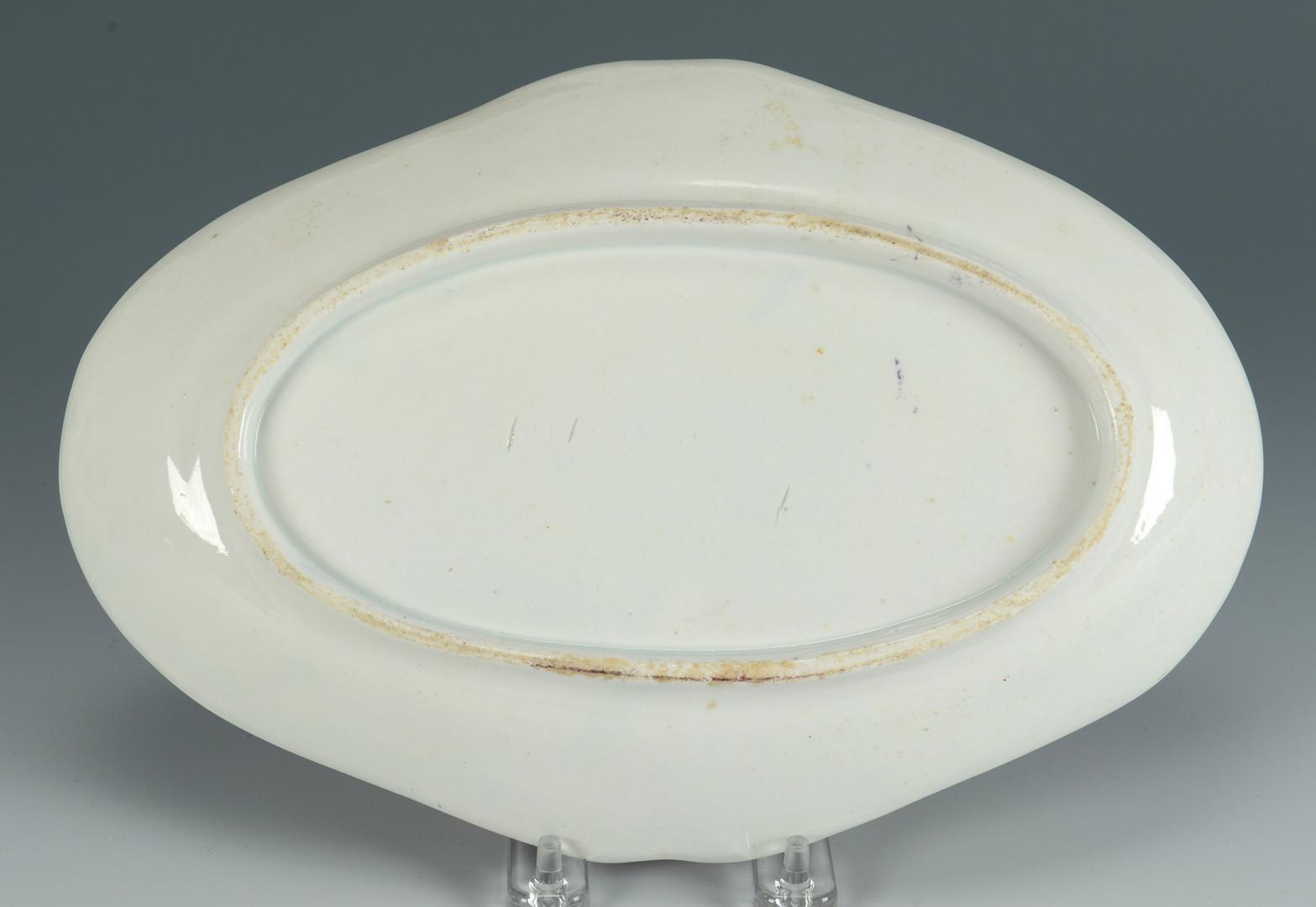 Lot 624: Worcester Imari Dish & Coalport Saucer