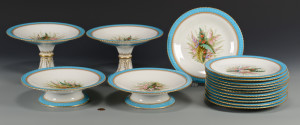 Lot 625: Minton Dessert Set