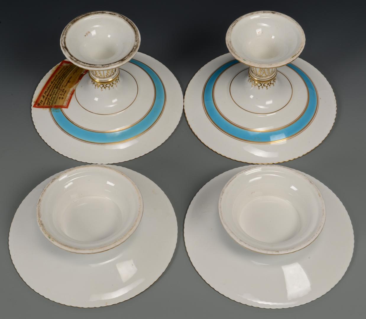 Lot 625: Minton Dessert Set