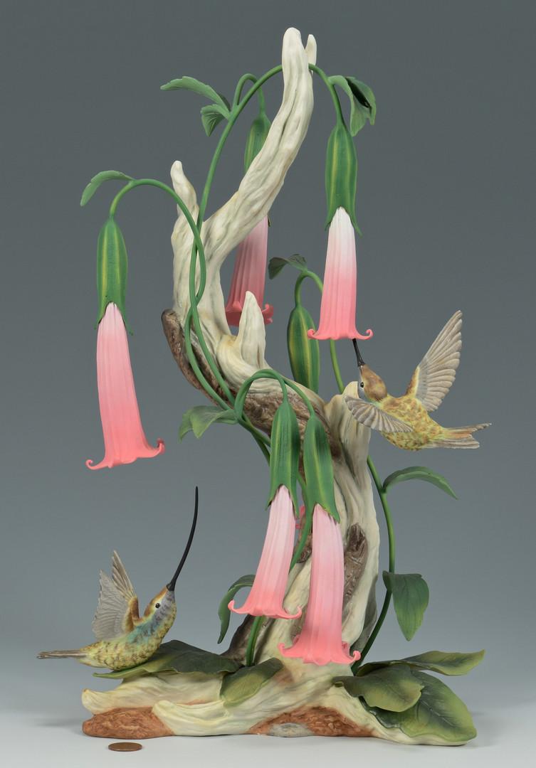 Lot 626: Boehm Hummingbirds