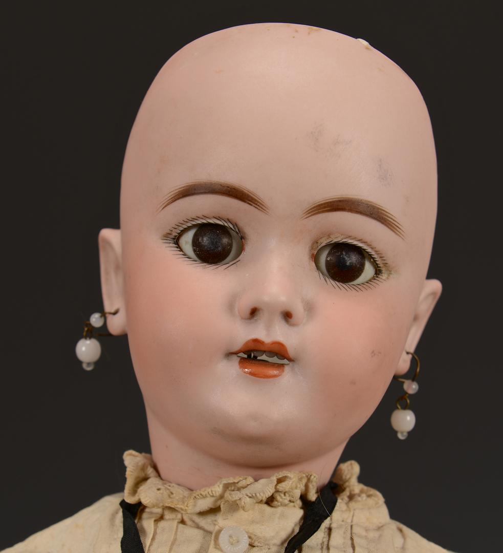 Lot 633: 4 German Dolls incl. 2 Baby Dolls