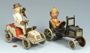 Lot 640: 2 Mechanical Car Toys