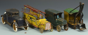 Lot 641: 4 Vintage Cars & Trucks