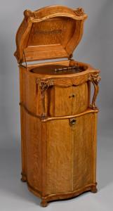 Lot 646: Reginaphone Lion's Head Music Box