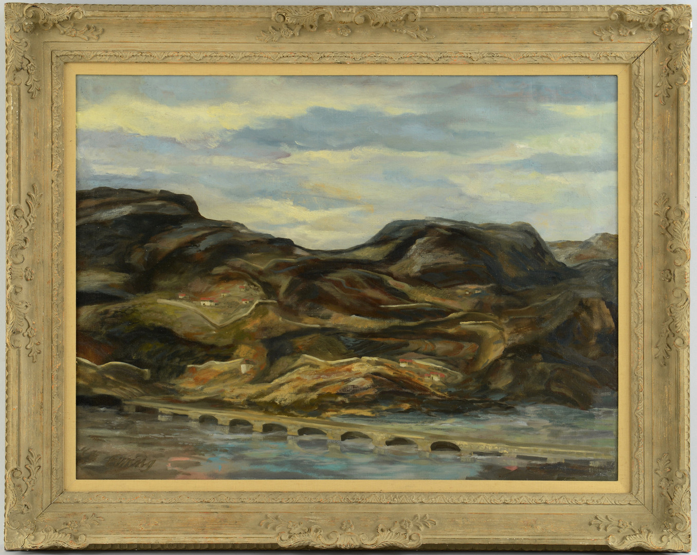 "Lot 649: Kermit Ewing ""Road to Grenada, Spain"""