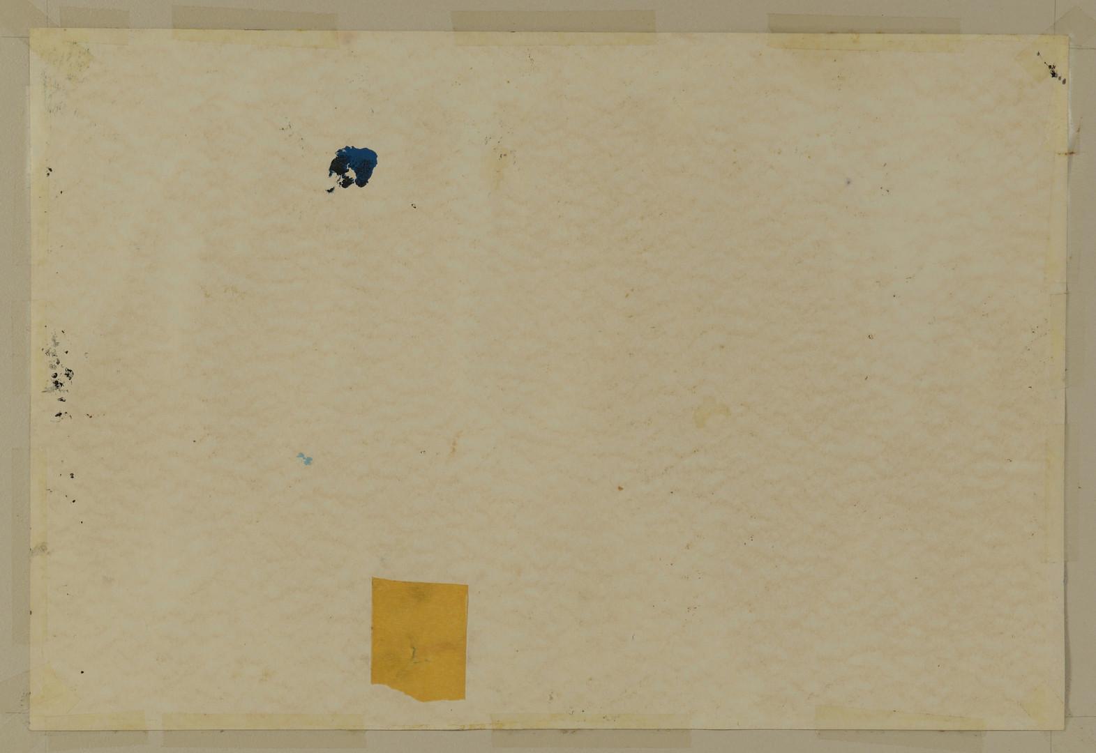 Lot 651: Hubert Shuptrine Abstract Oil