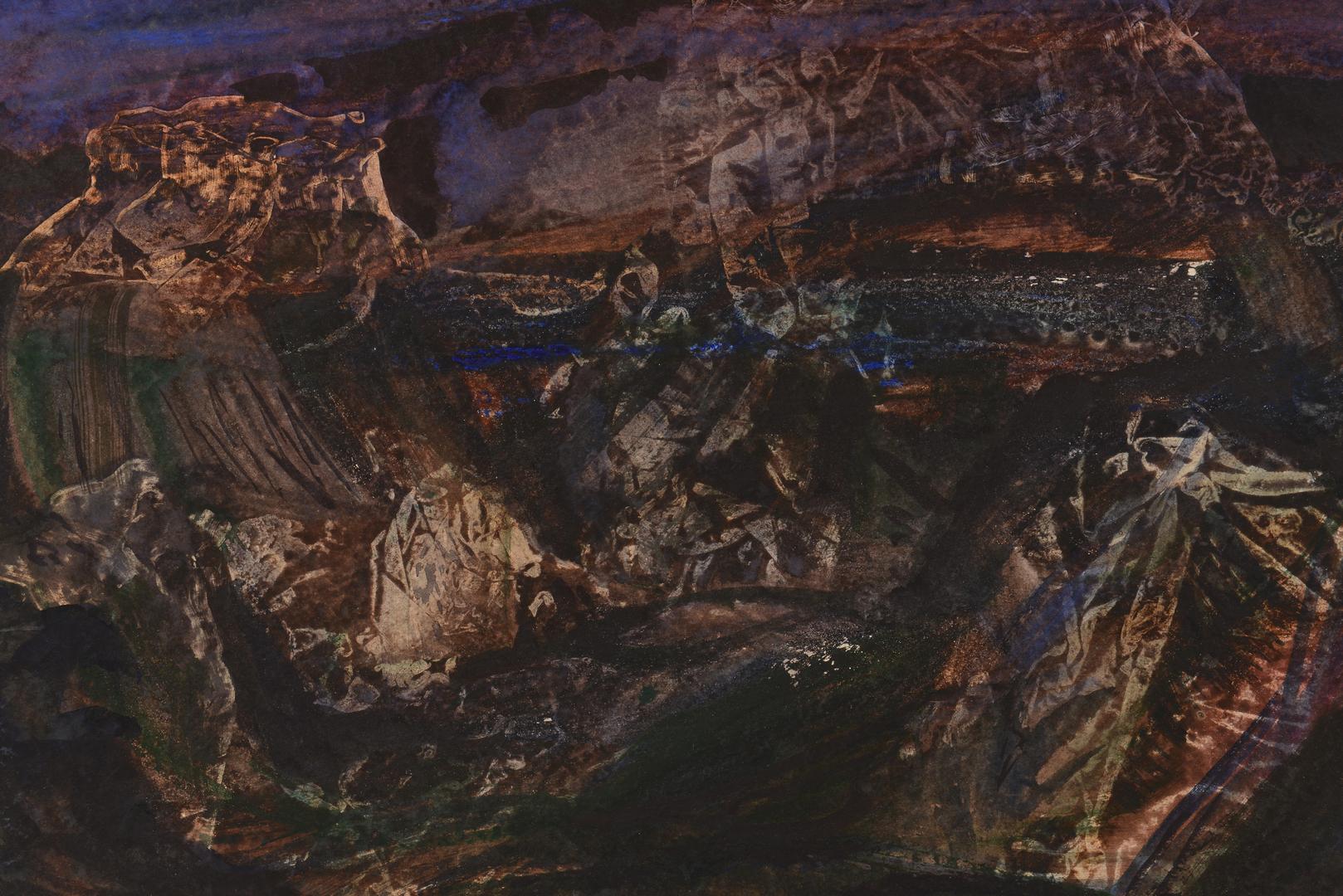 Lot 652: 2 Watercolors, Clarke & Sublett