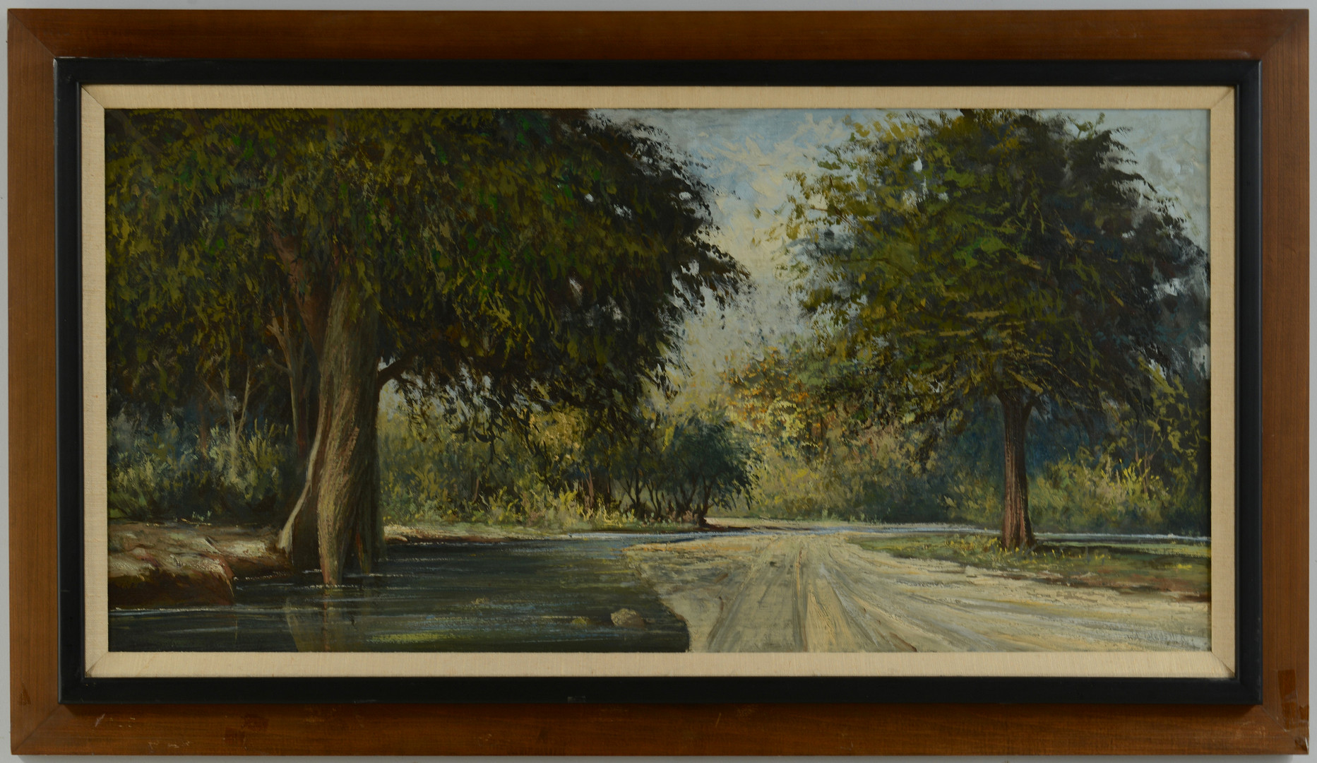 Lot 655: William R. Thrasher Landscape Painting