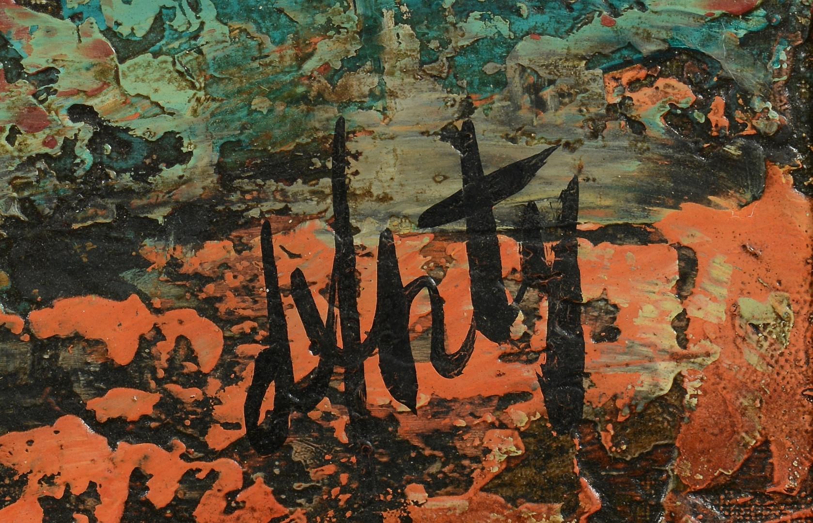 Lot 664: Henri D'Anty, oil on canvas