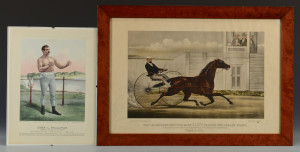 Lot 681: 2 Currier & Ives Sporting Prints