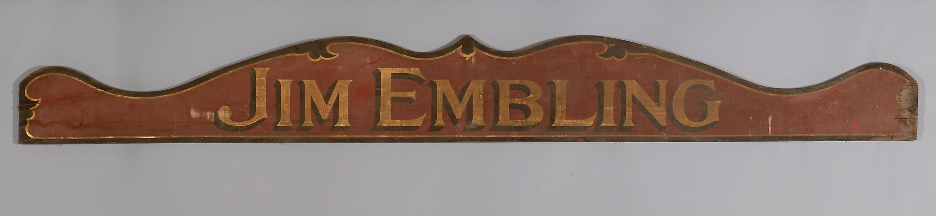 Lot 685: Monumental Chocolate Trade Sign