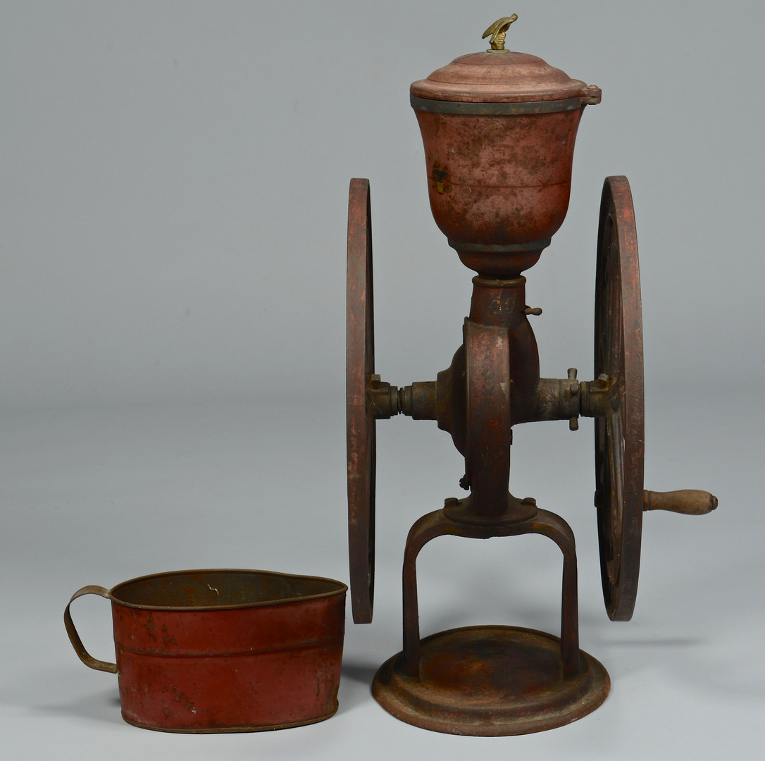 Lot 687: Elgin National Cast Iron Coffee Mill
