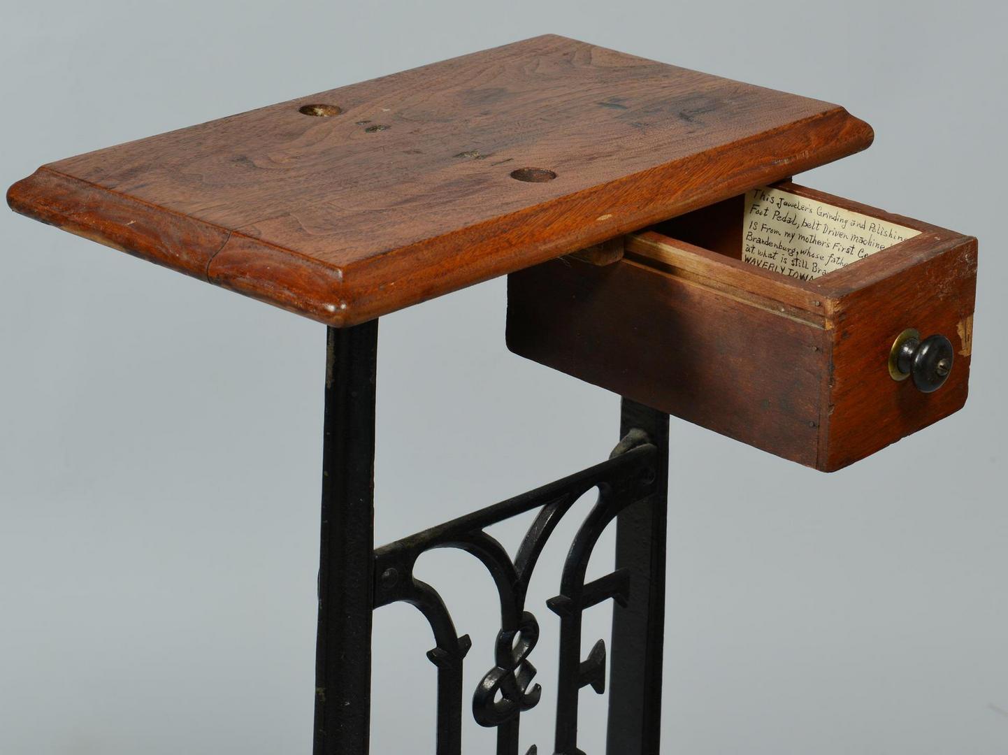 Lot 688: 19th Century Jeweler's Lathe