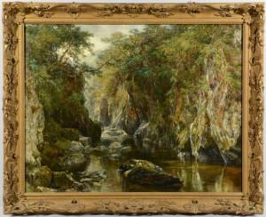 Lot 68: F.H. Henshaw Landscape