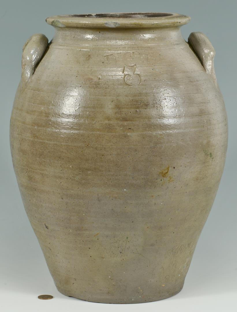 Lot 693: Ohio Pottery Jar, Prosper Rich
